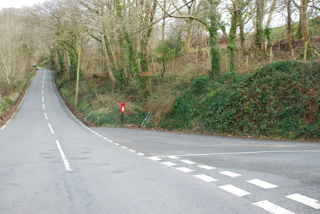 Junction on B4410 at Llanfrothen