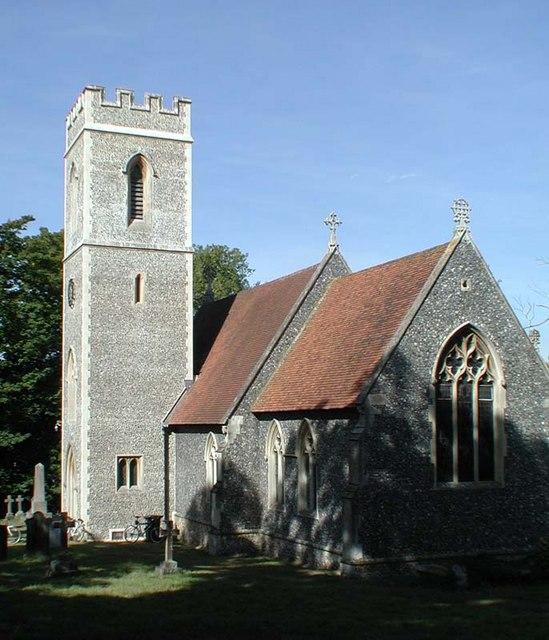 St Catherine, Sacombe, Herts