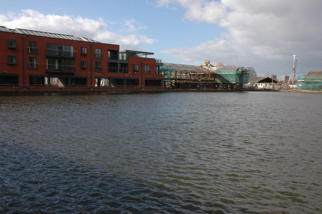 Diglis Basin Development, Worcester
