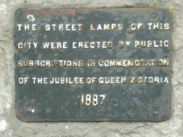 Sign on  wall