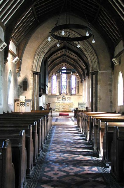 St Botolph, Eastwick, Herts - East end