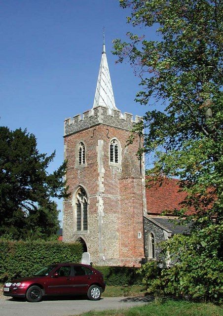 St Mary, Gilston, Herts - Tower