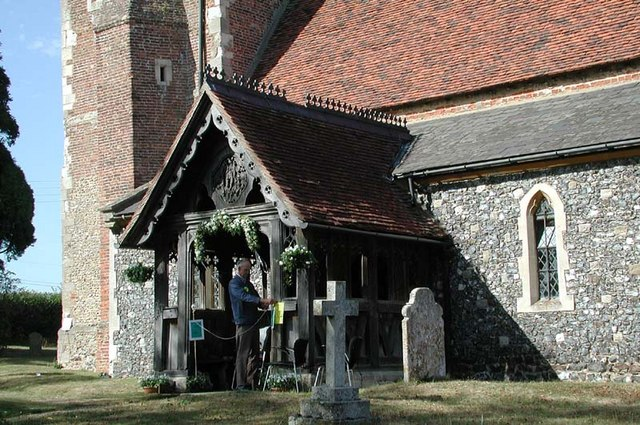 St Mary, Gilston, Herts - Porch