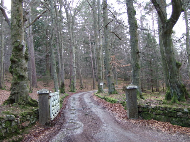 Entrance to Woodend House