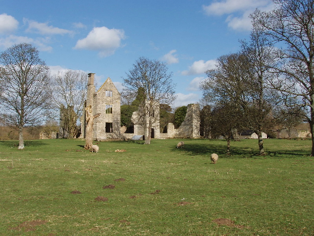 Hampton Gay manor house ruins