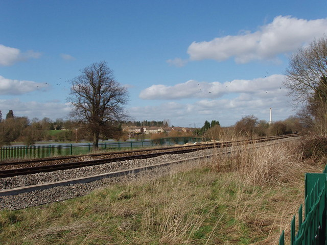 Railway at Hampton Gay, site of 1874 crash