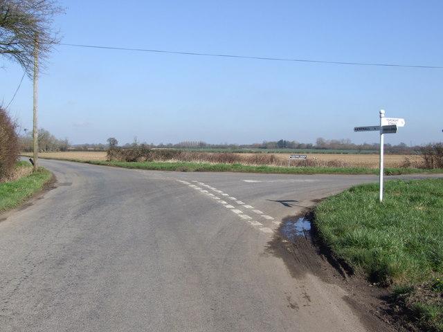Junction at Park Farm, Topcroft Street