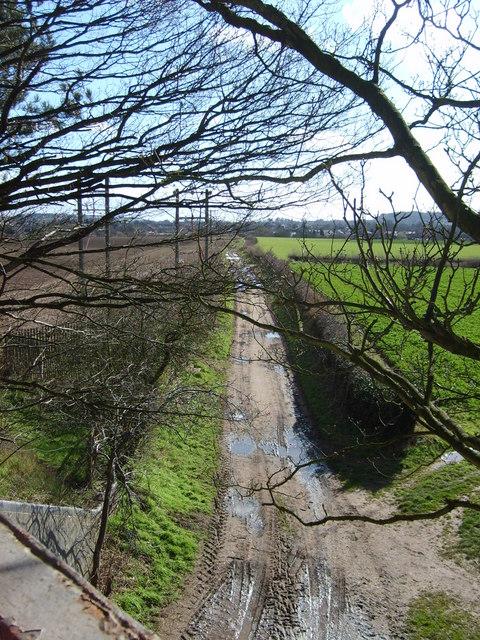 Footpath to Wall Heath