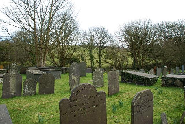 Mynwent St  Gwynhoedl Churchyard Llangwnnadl