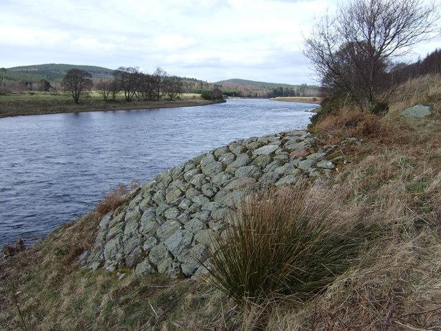 River bank defences
