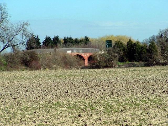 Road bridge at Donington