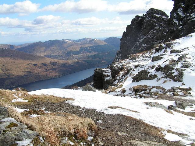 Loch Long From Ben Arthur Summit