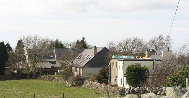 Houses at Bryn Hywel