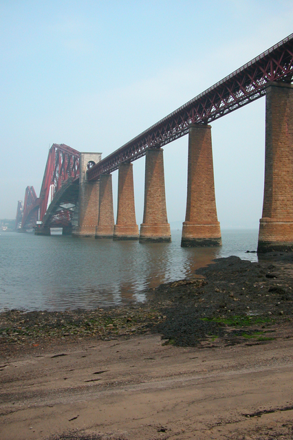 Forth Rail Bridge Looking North