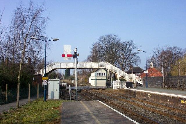 Nantwich Railway Station