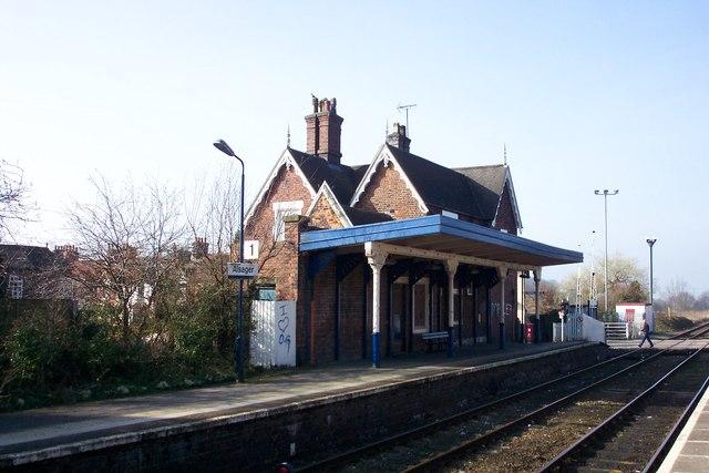 Alsager Railway Station