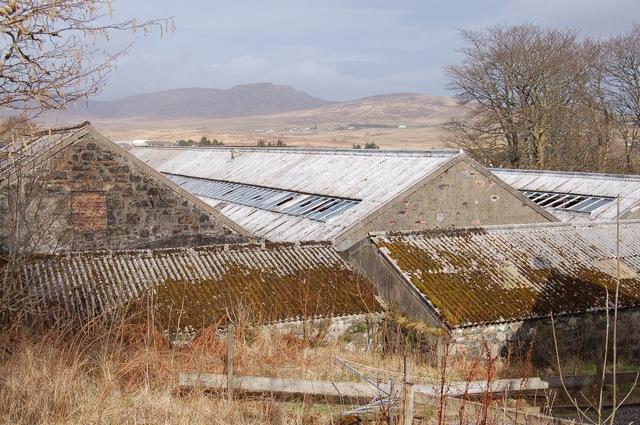 Roofs of Skye Wool Mill