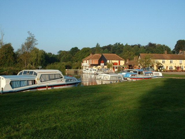 Coltishall Staithe in Summer