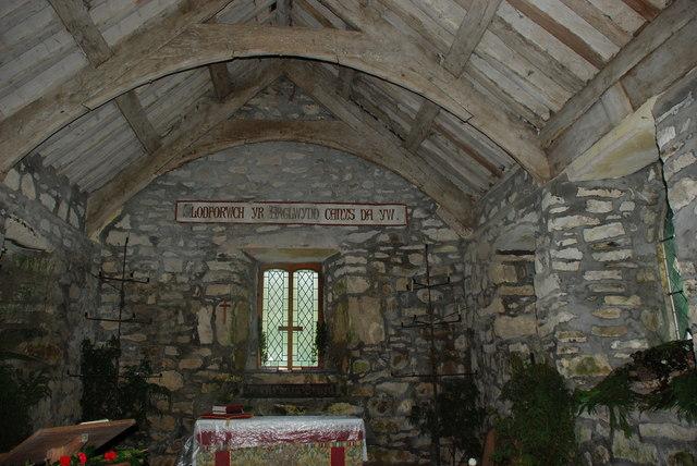 Eglwys Beuno Sant - St Beuno's Church Pistyll