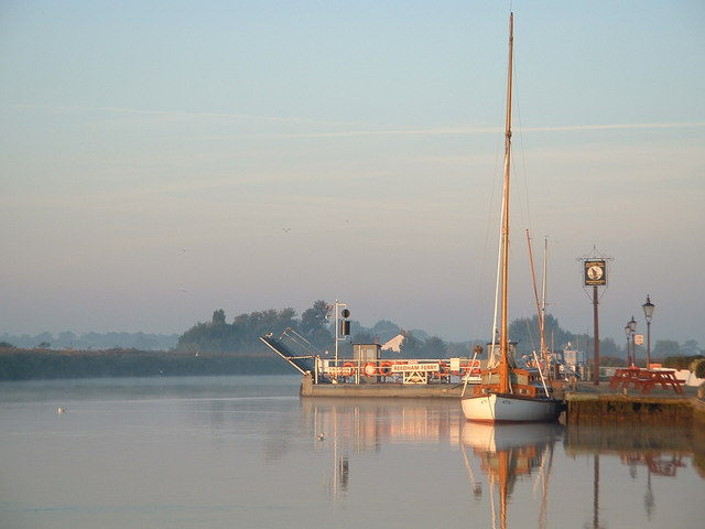 Early Morning at Reedham Ferry