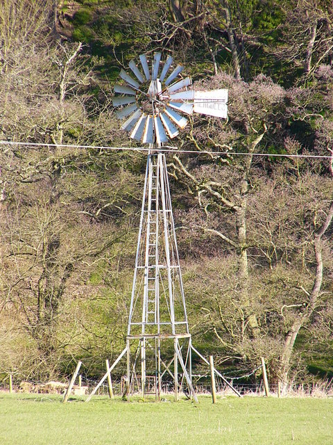 Windpump near Ty-mawr