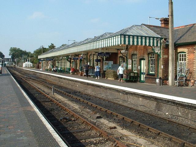 Sheringham Station, North Norfolk Railway