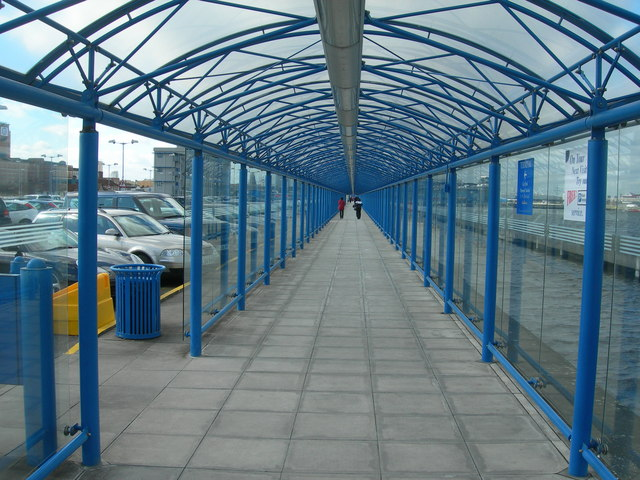 Covered Walkway, London City Airport