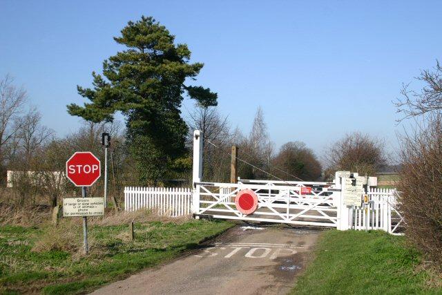 Westley Bottom level crossing