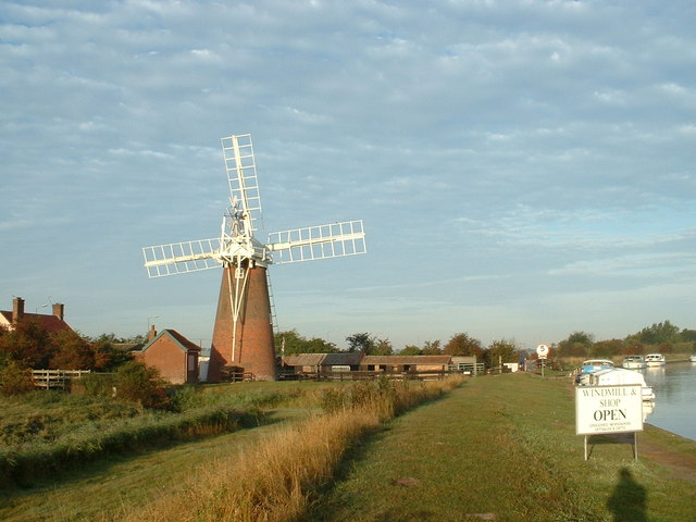 Stracey Arms Mill, River Bure