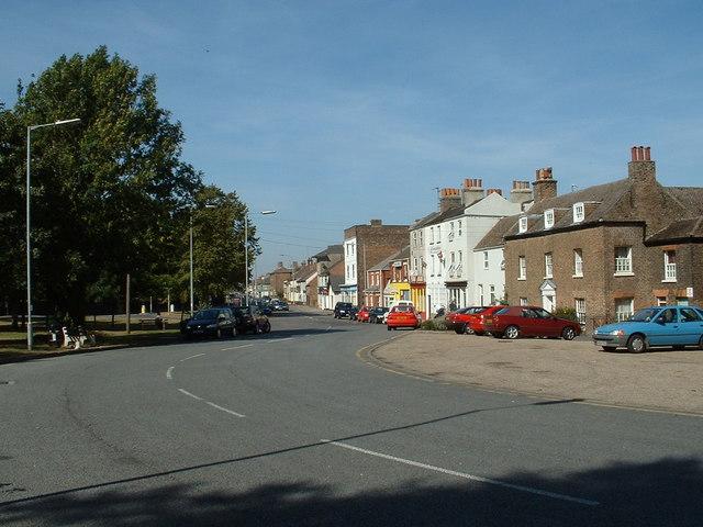A17 Main Road through Sutton Bridge