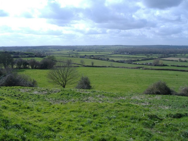 The Key valley, from Pavenhill, Purton