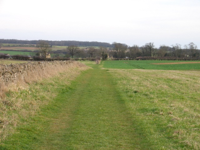 Hereward Way running down unto Southorpe