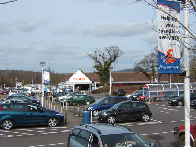 Tesco, Battishorne Way, Honiton