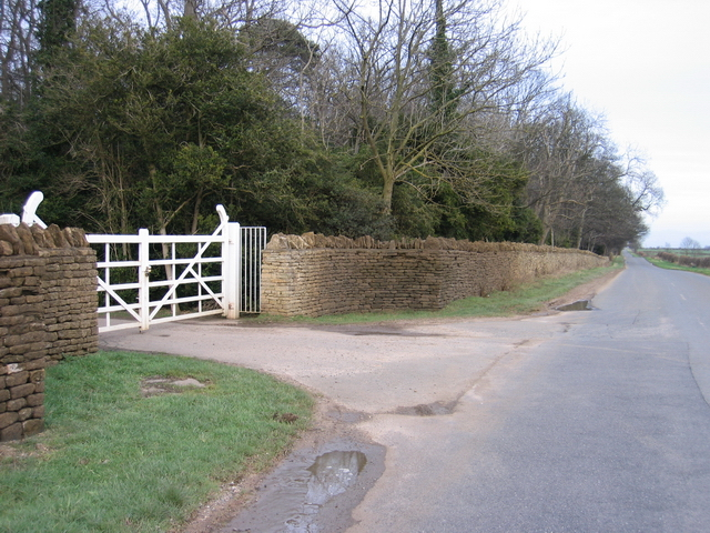 Burghley Park Southern Boundary and Entrance Gate