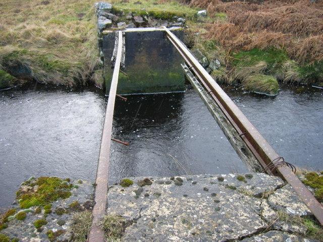 """""""None"""" bridge over Hunter's Burn"""