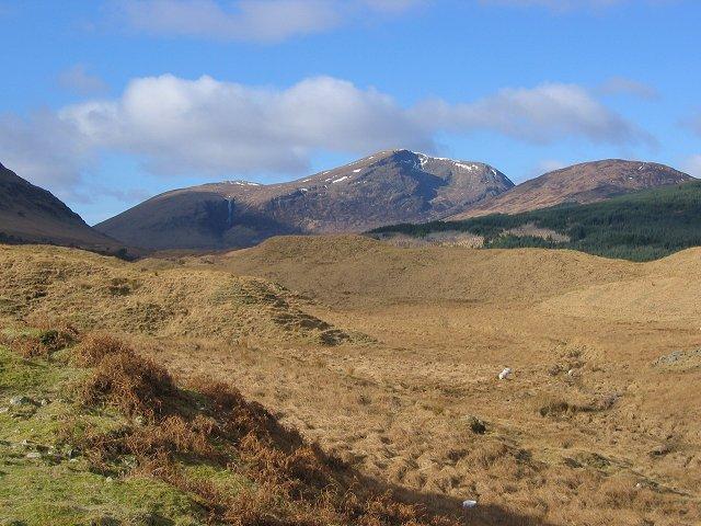 Hummocky terrain, Dalrigh