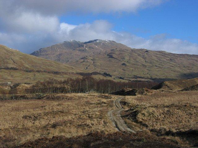 Track to Glen Auchreoch