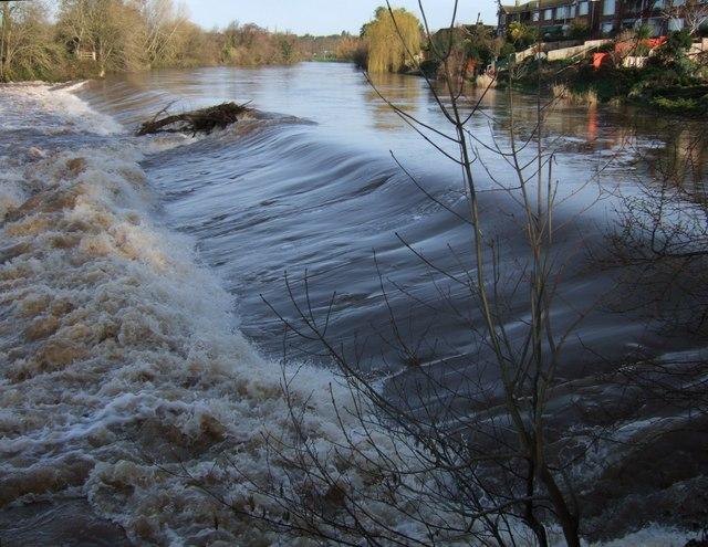 St James Weir, River Exe