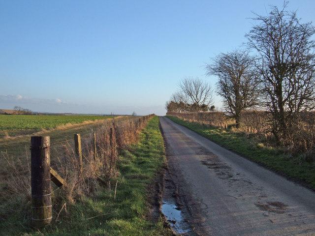 Towards Bellasis Farm, near Stannington