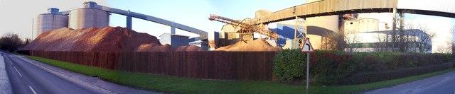 Lafarge Cement Works At Cauldon