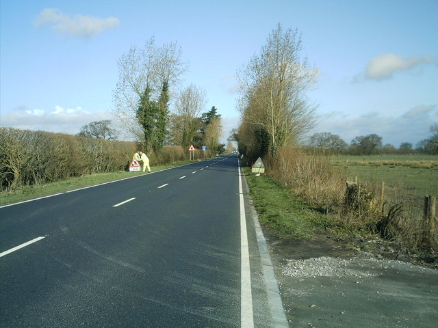 The A530 King street, nr Northwich.