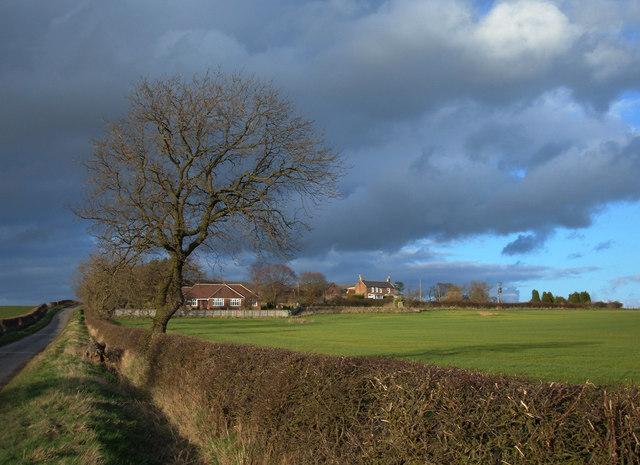 Farmland south of Saltwick