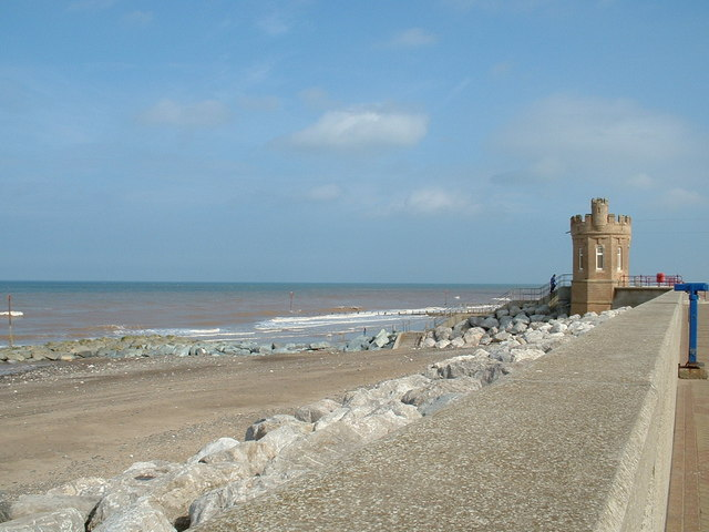 Withernsea Seafront.