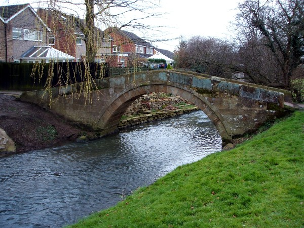 The Packhorse Bridge, Romanby.