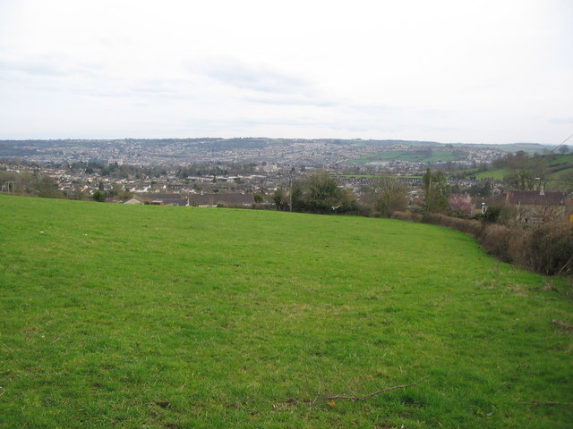 View towards Bath