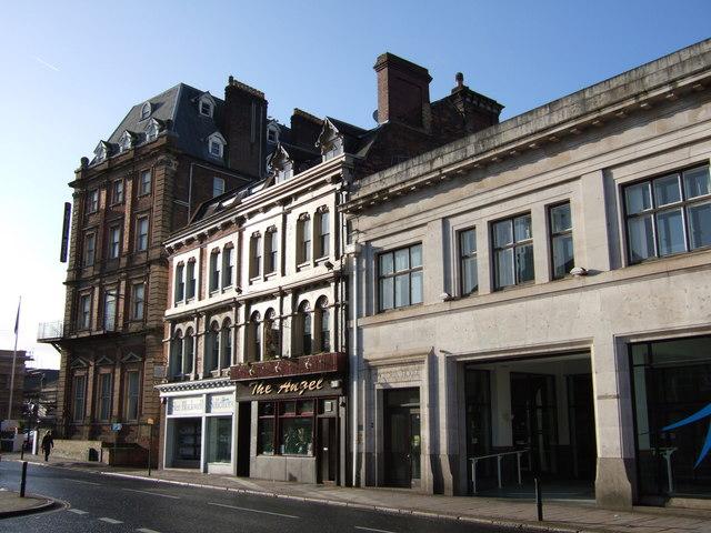 Buildings on Queen Street