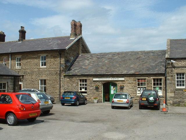 Leyburn Station Entrance