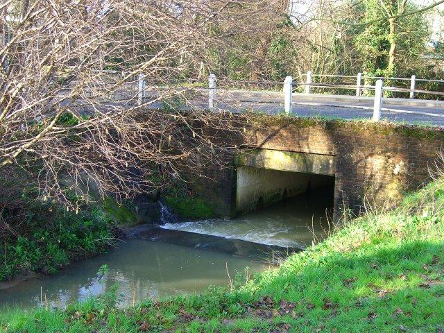 Bridge on North Heath Lane crossing Chennells Brook