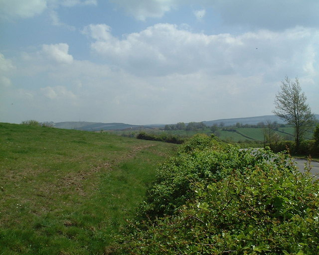 View towards Cherhill Downs