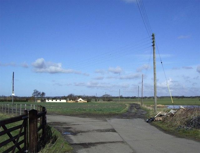 Farmtrack off Moss Lane, Simonswood